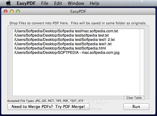 EasyPDF screenshot 1