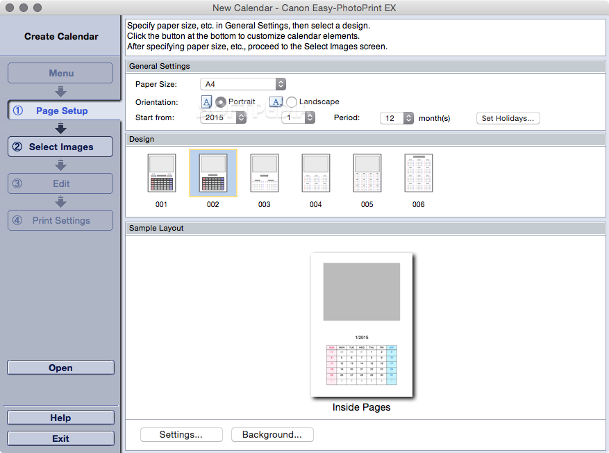 Download canon easy-photoprint ex 4. 5. 0.