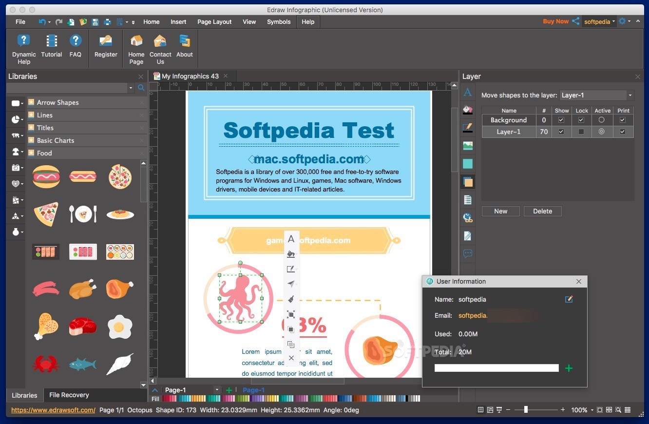 Infographic generator software mac