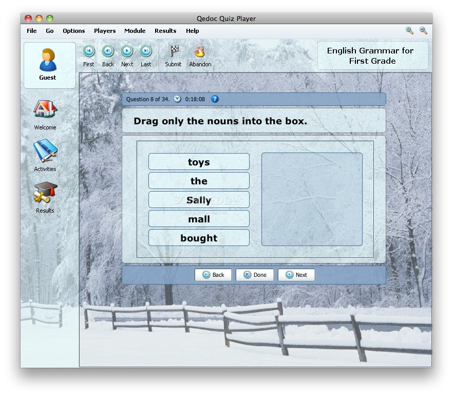 English Grammar for First Grade screenshot 4