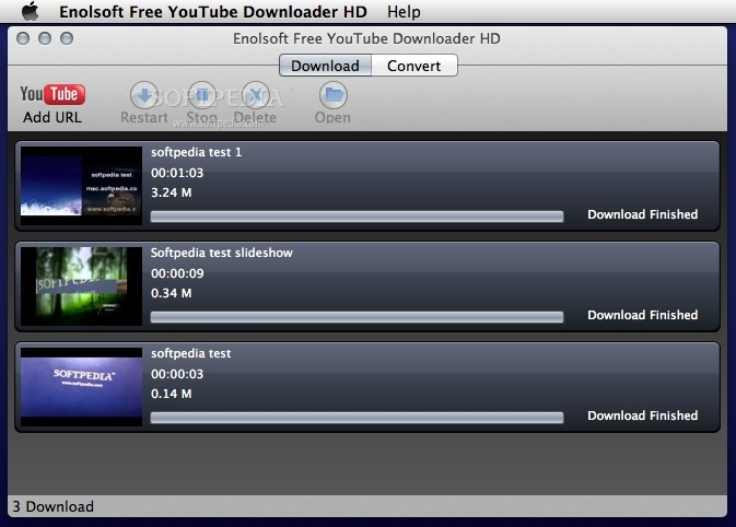 Download Enolsoft Free Youtube Downloader Hd Mac 4 5 0