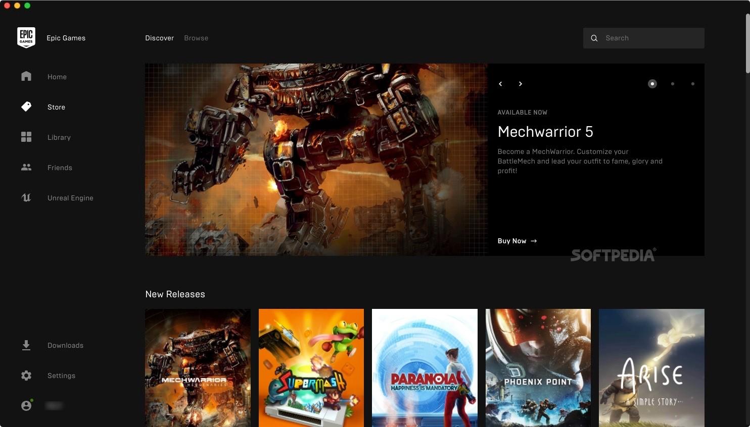 Epic Games Launcher Mac 10.18.8 - Download