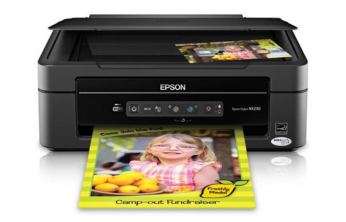 Epson Stylus NX230 Driver Software Firmware Manuals Install Setup