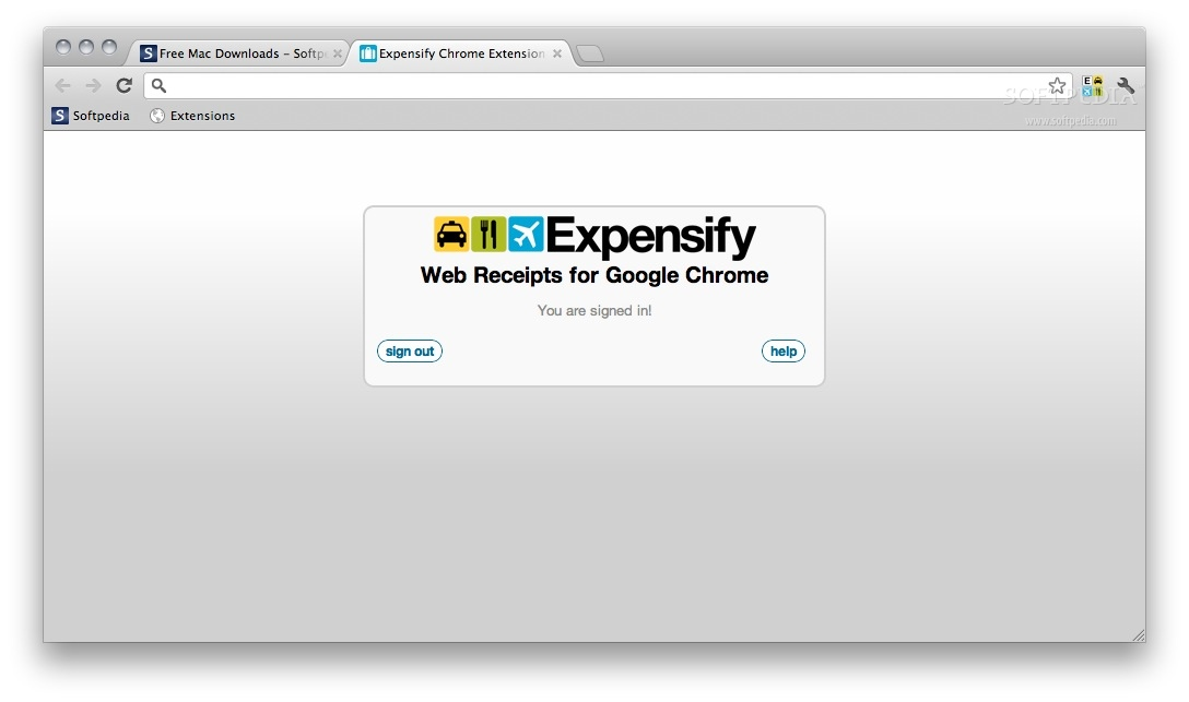 Expensify Web Receipts screenshot 2
