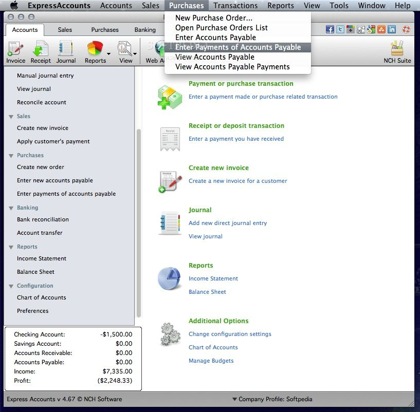 Express Accounts screenshot 8