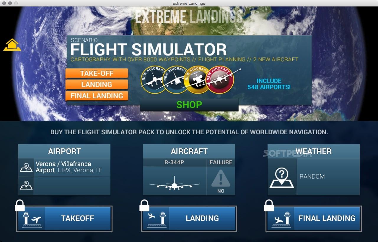 extreme landings pro apk pc