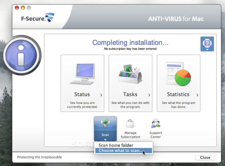 Download F-Secure Anti-Virus Mac 1.0.20120