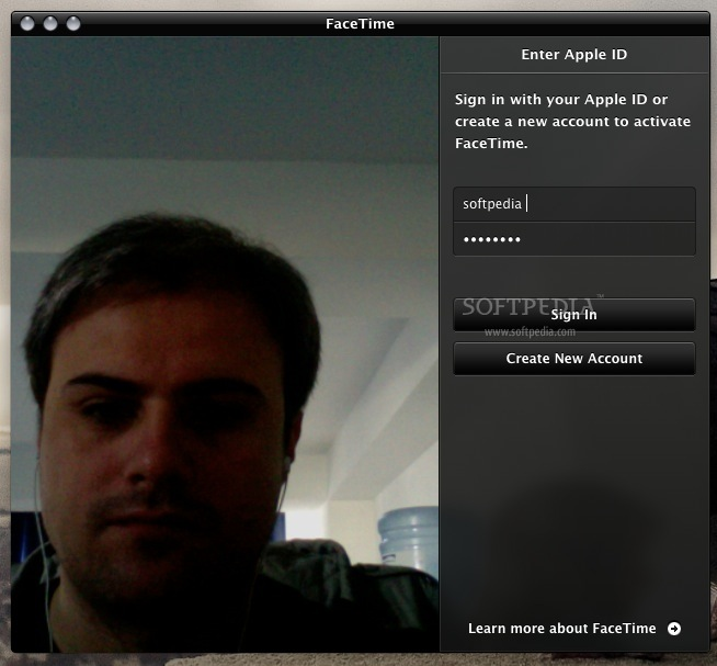 how to get to facetime preferences on mac