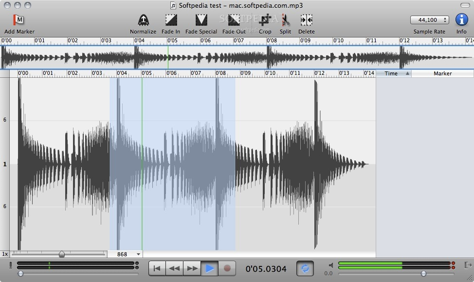 Sound Studio screenshot 1