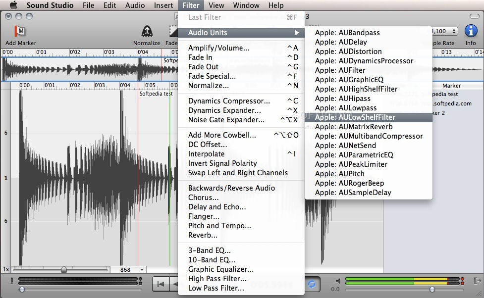 Sound Studio screenshot 8