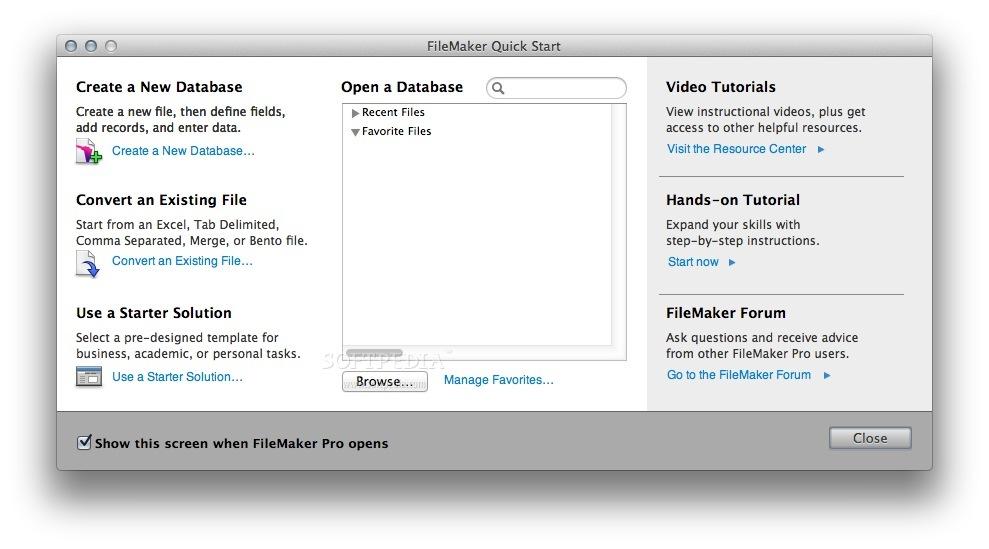 Download FileMaker Pro Mac 16.0.5.500