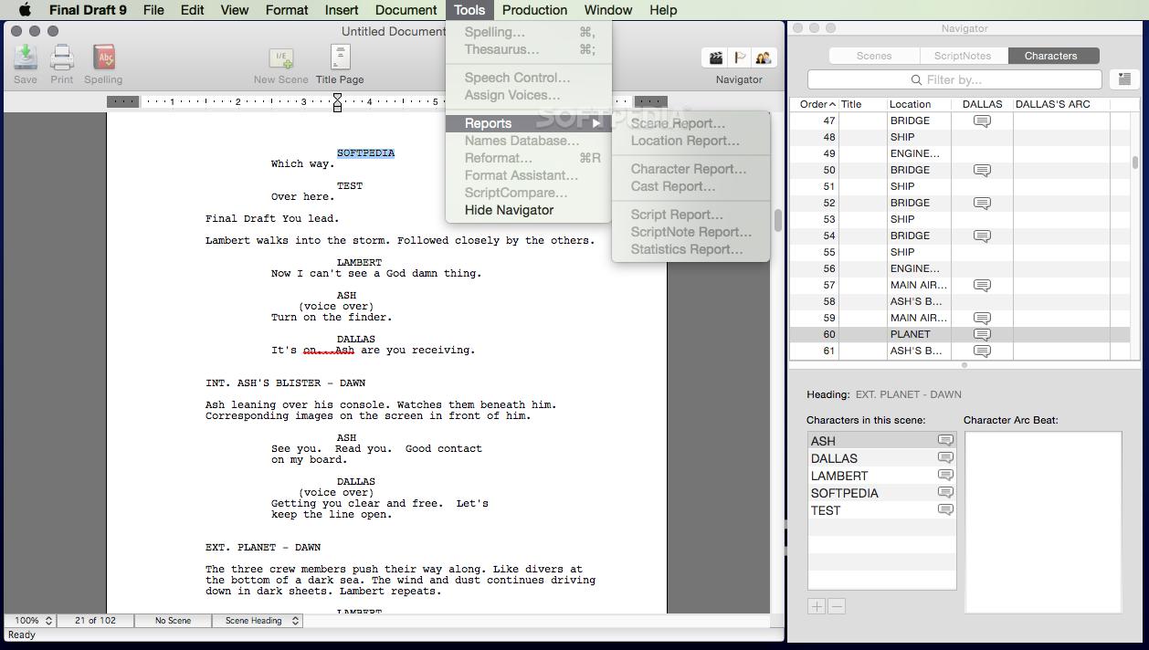 download final draft 7 torrent