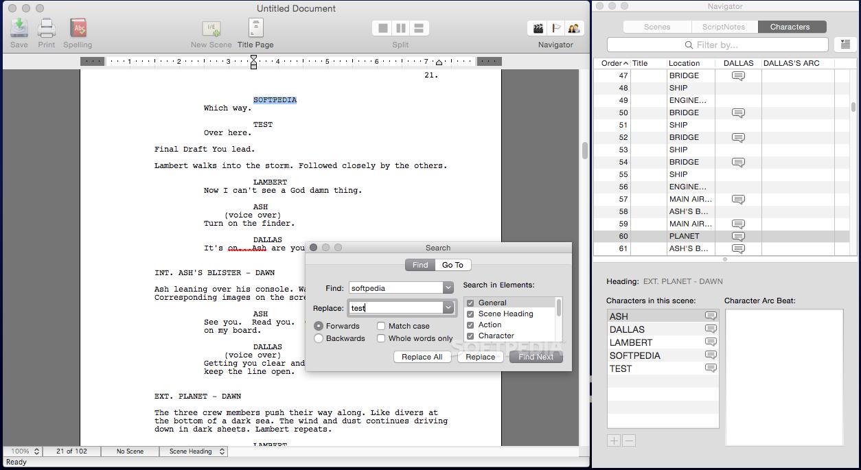 Final Draft 7 Download Macsoftfreethsoft