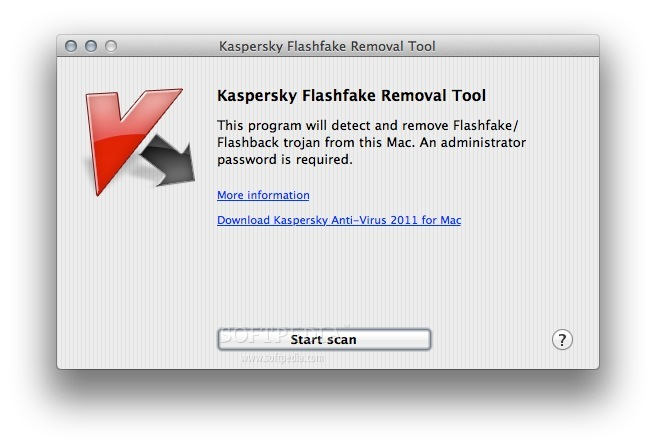 Flashfake Removal Tool screenshot 1