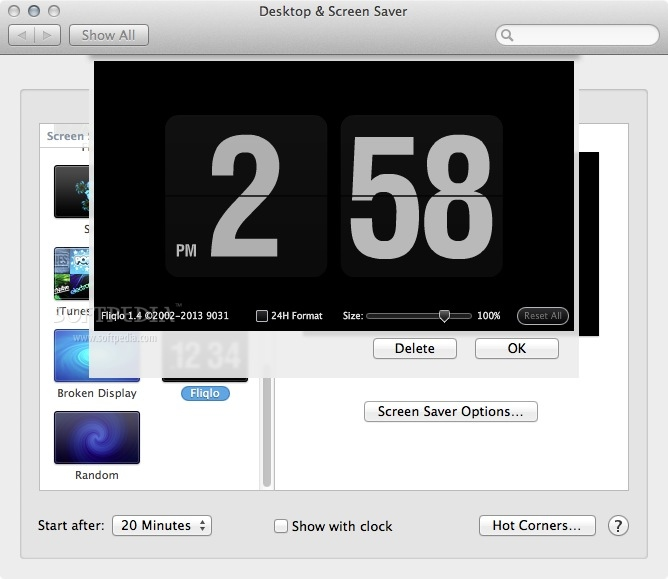 how to change the clock mac mail