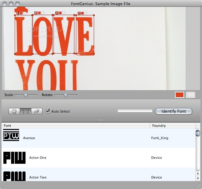 FontGenius screenshot 1