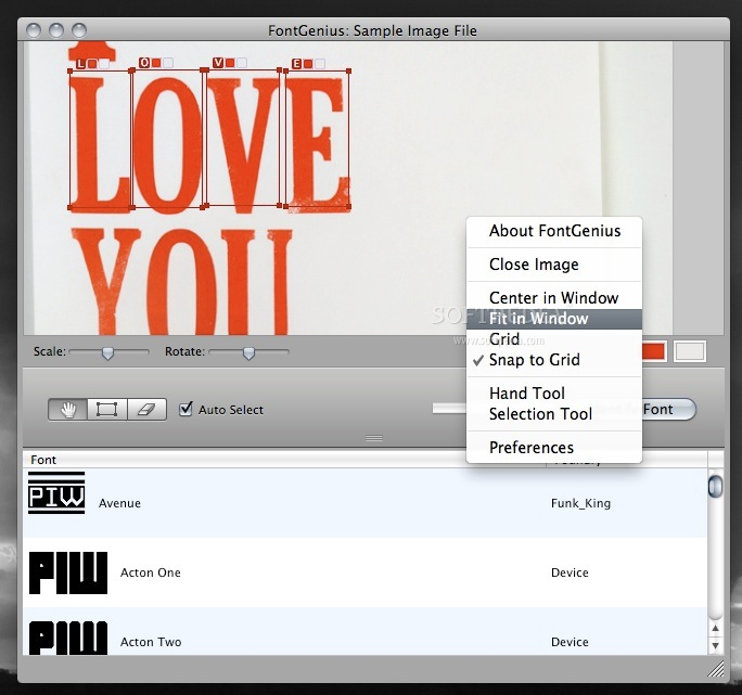 FontGenius screenshot 2