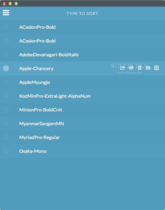 FontPrep Mac 3 1 1 - Download