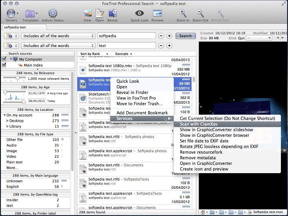 Foxtrot Professional Search For Mac