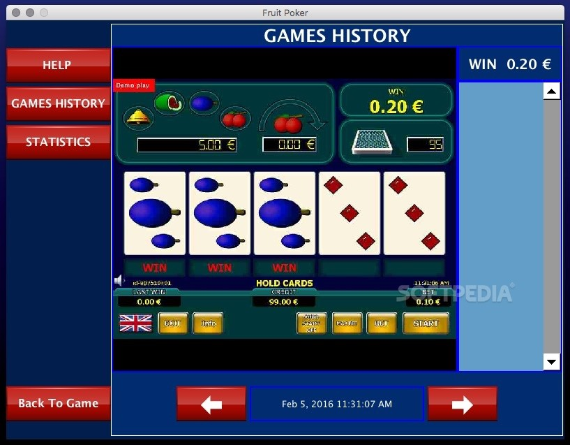 video poker download mac