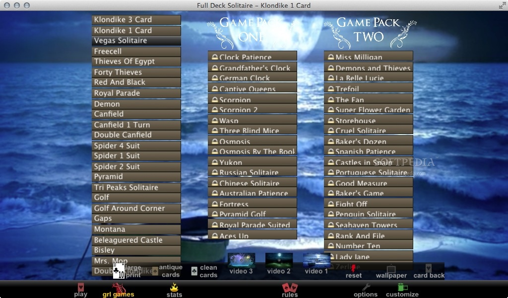 Full Deck Solitaire Mac 1 79 - Download