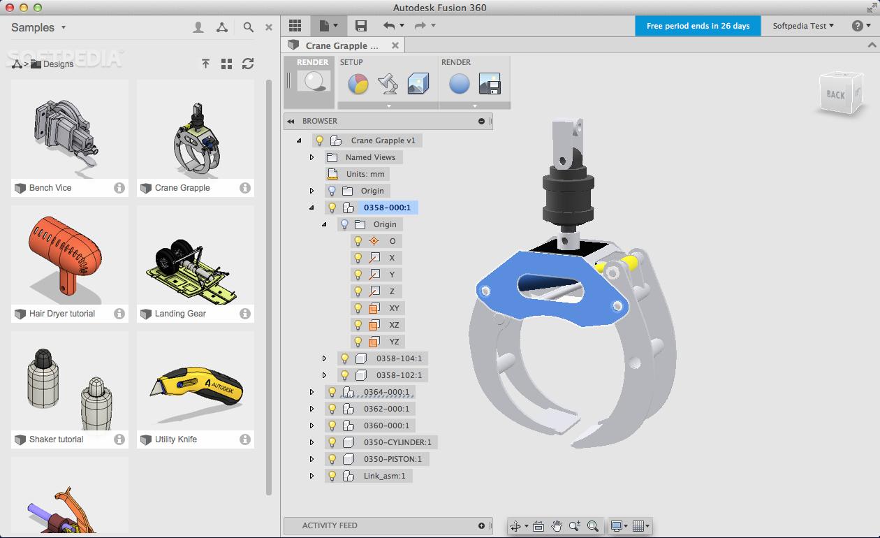 Fusion 360 Mac 2 0 6263 - Download