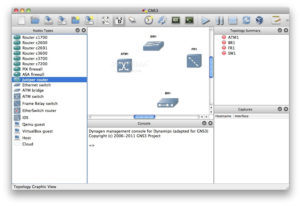 GNS3 Mac 2 1 21 / 2 2 0 RC 3 - Download