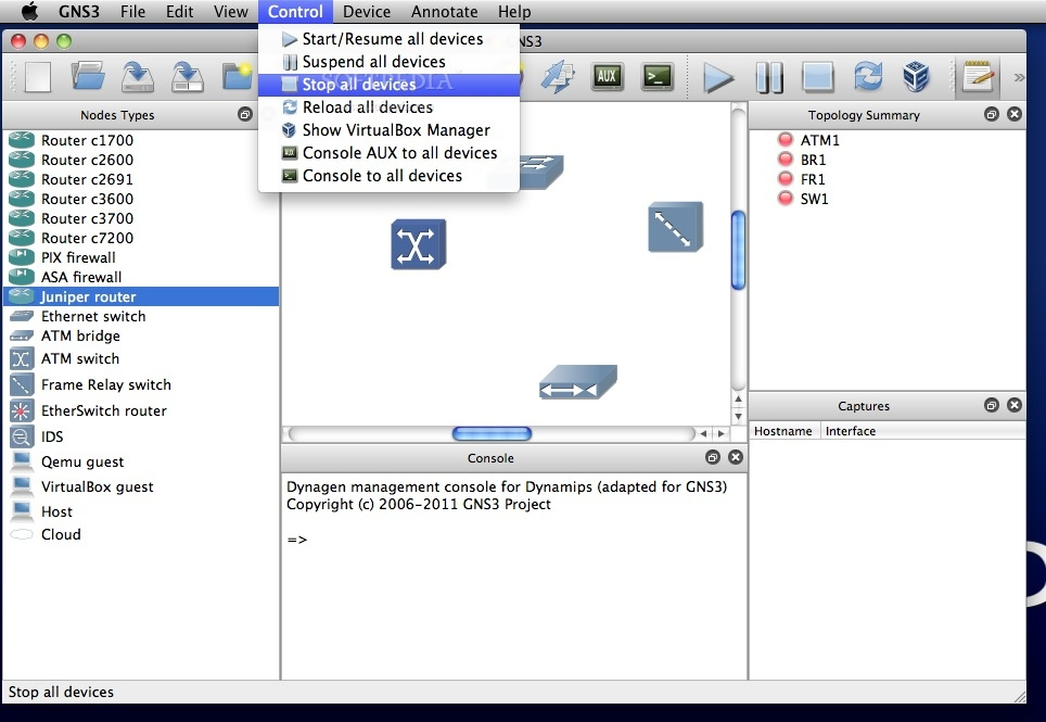 GNS3 Mac 2 1 21 / 2 2 0 RC 5 - Download