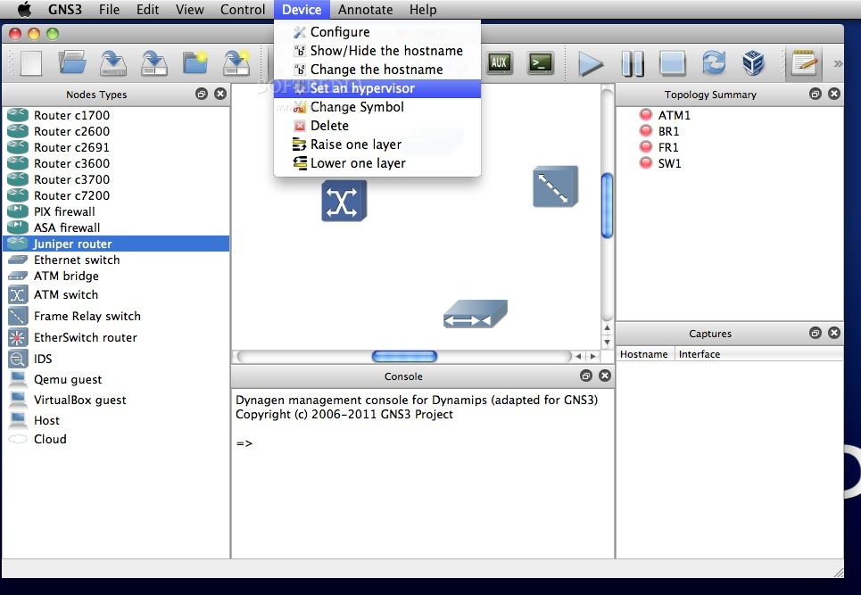 GNS3 Mac 2 1 21 / 2 2 0 RC 4 - Download
