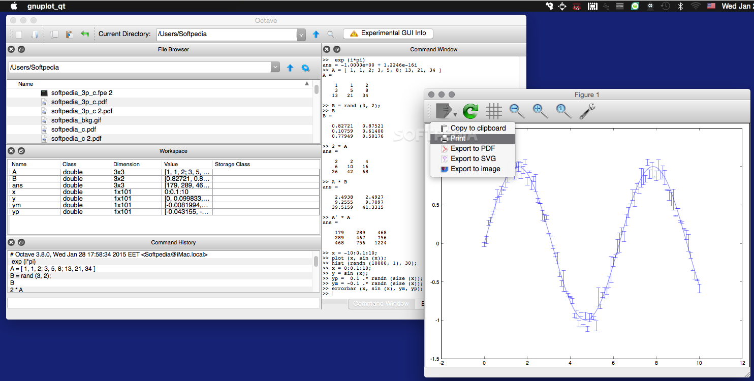 GNU Octave Mac 4 4 1 - Download