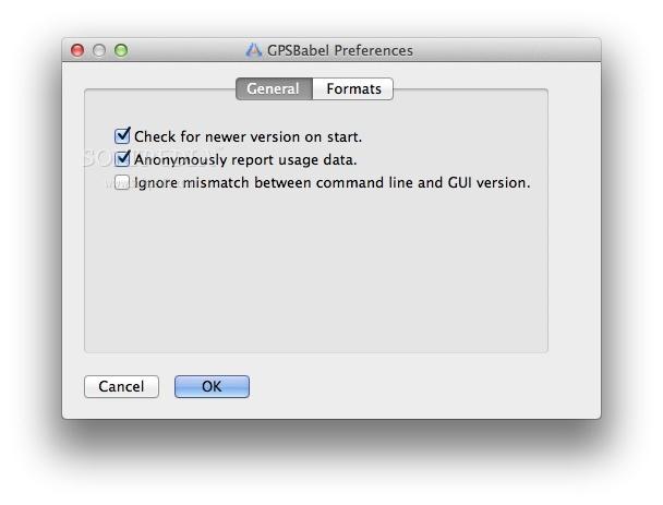 GPSBabel Mac 1 5 4 - Download