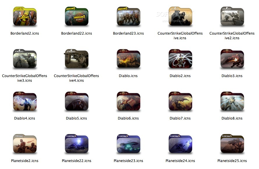 Game Folder Pack 1 screenshot 1