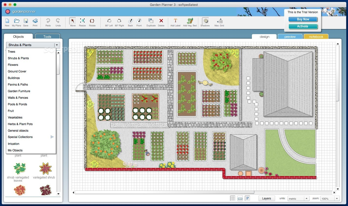 Garden Planner Mac 3.7.36 - Download