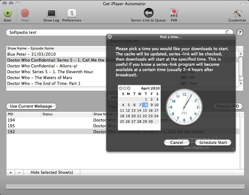 Get iPlayer Automator screenshot 3
