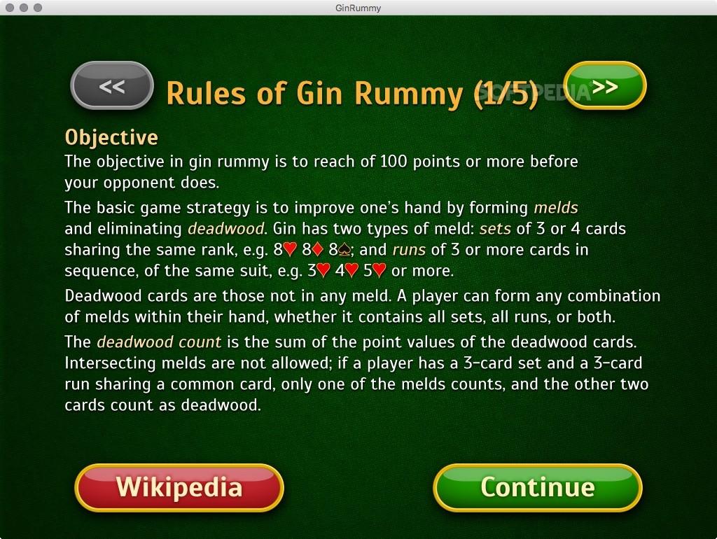 Download Gin Rummy Pro Mac 11