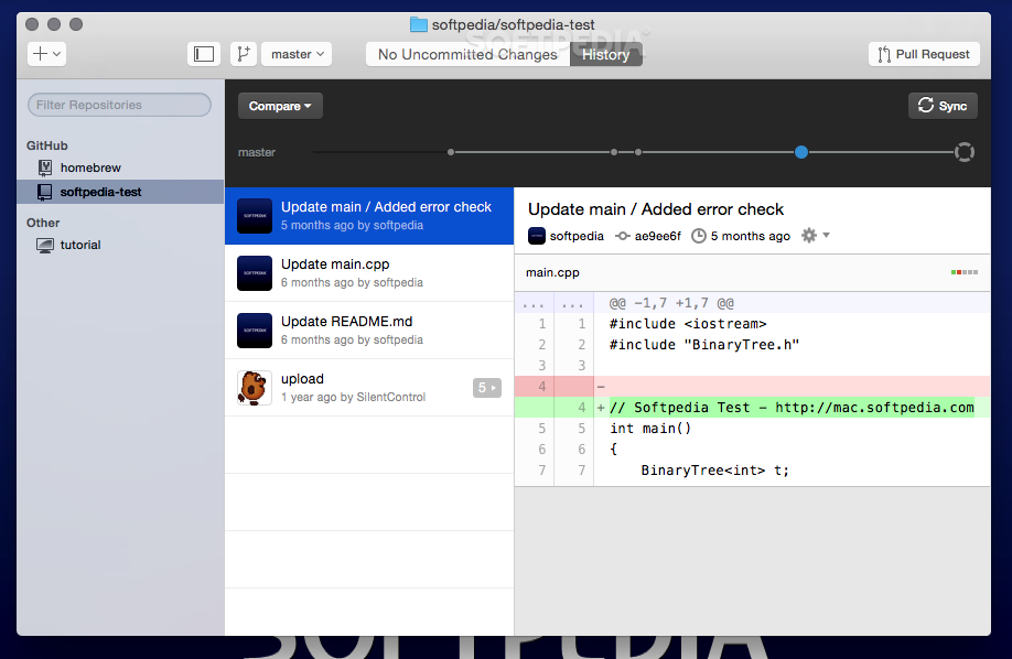 GitHub Desktop Mac 2 1 0 - Download