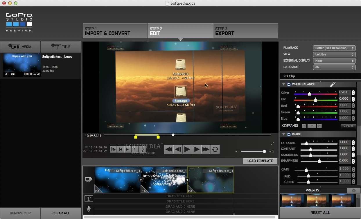 Download gopro studio premium mac 2 0 for How to use gopro studio templates