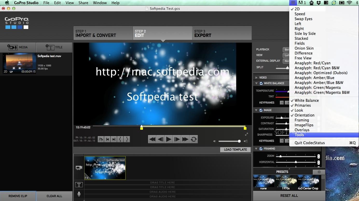 Download GoPro Quik (formerly GoPro Studio) Mac 2.6.2.770