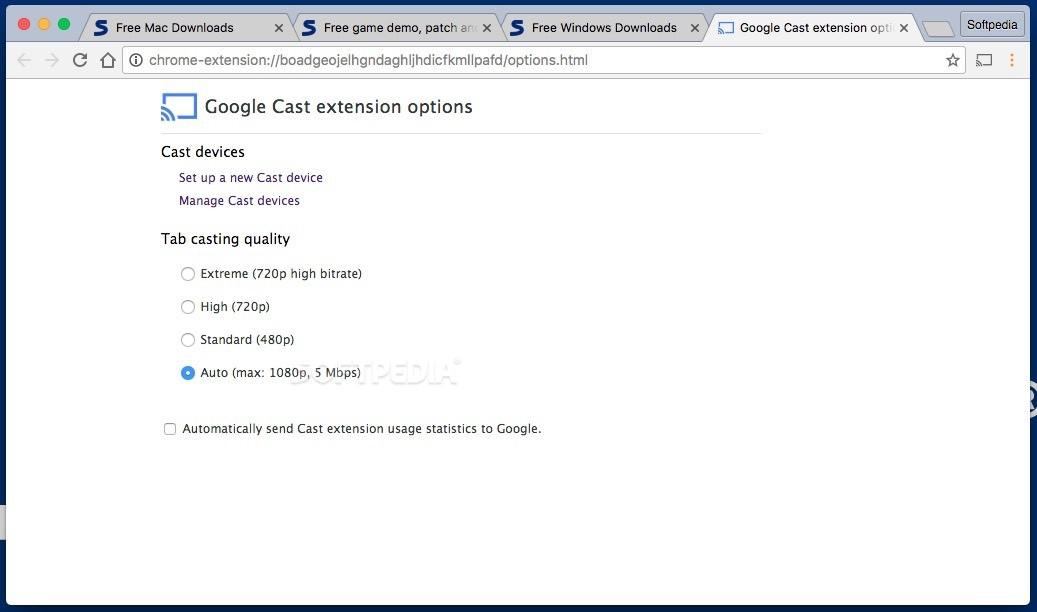 Google Cast Mac 17 418 0 0 - Download