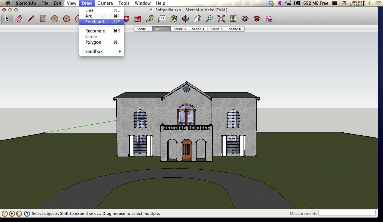 SketchUp Make Mac 17 2 2554 - Download