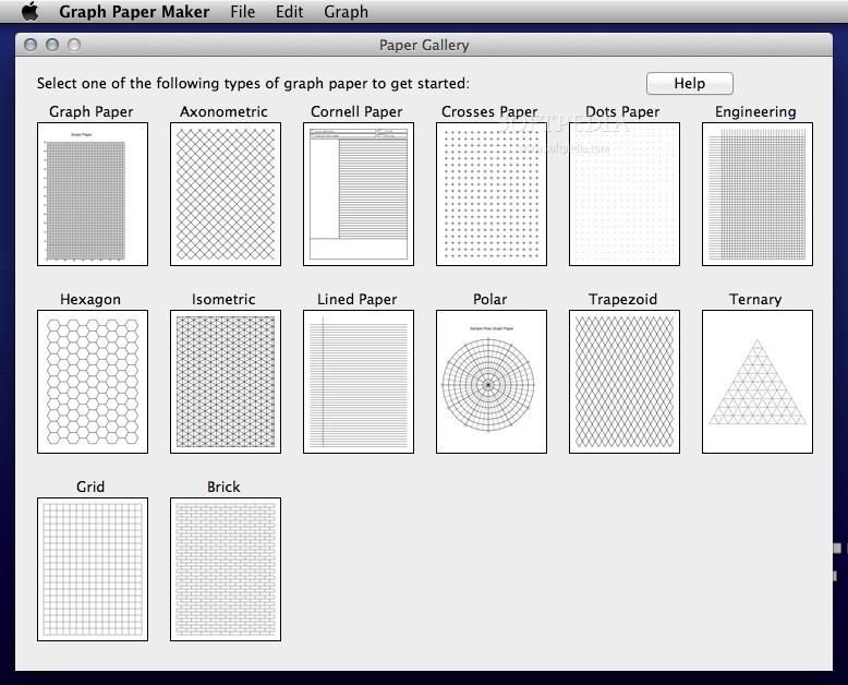 Graph Paper Maker Download Mac