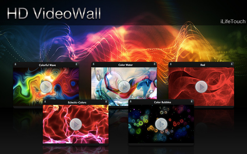 HD VideoWall screenshot 1