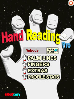 Hand Reading Pro iPhone screenshot 1