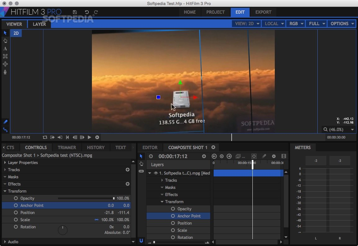 free hitfilm 3 pro download for mac