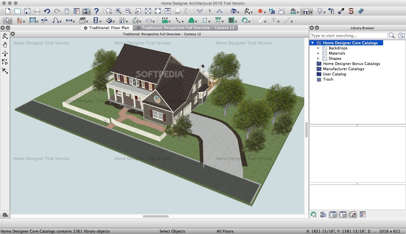 Download Home Designer Architectural Mac 2017 18 1