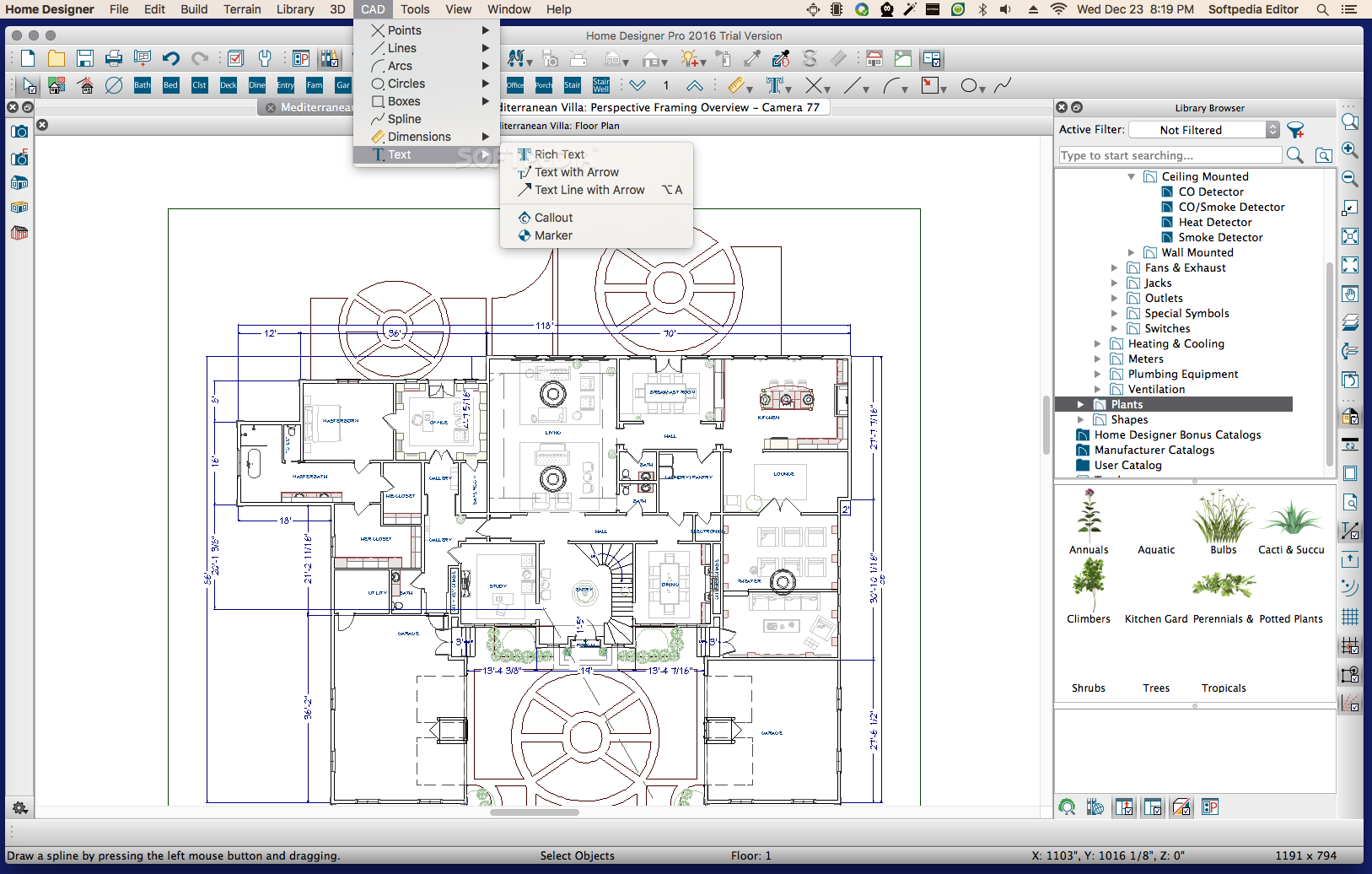 Home Designer Pro Mac 2021 22.1.1 - Download