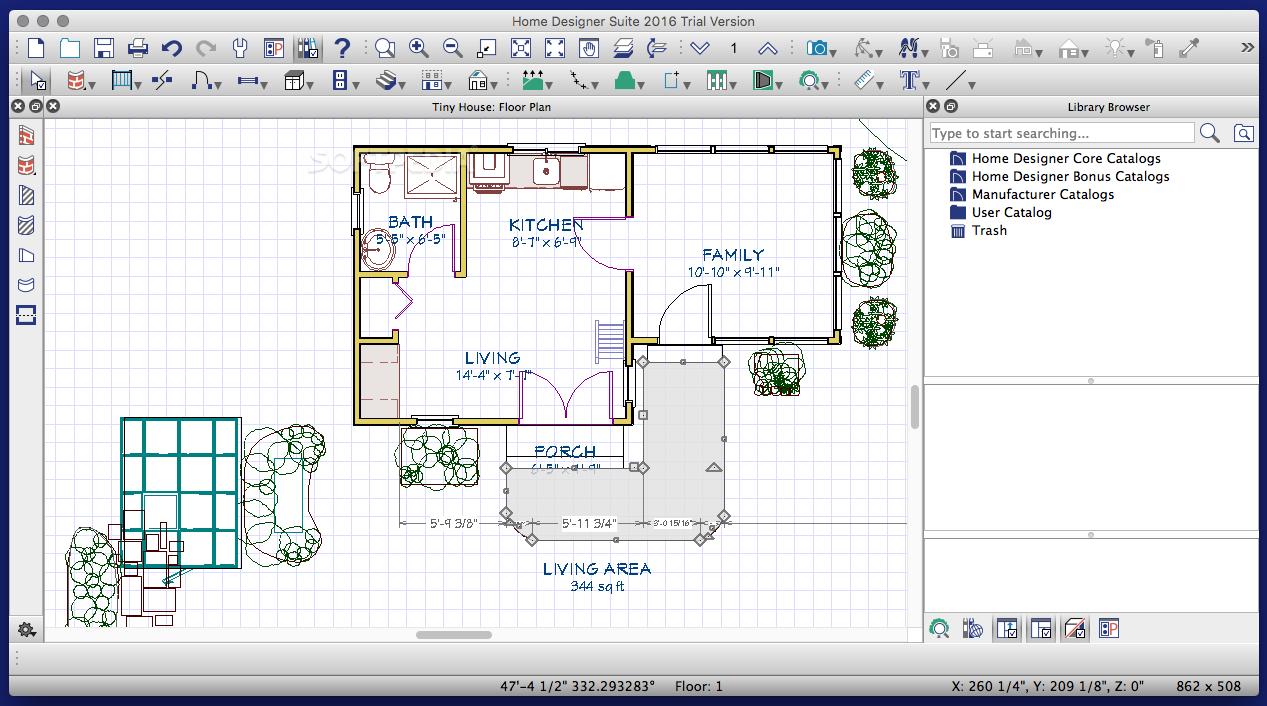 Home Designer Suite Mac 2020 21 1 2