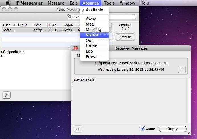 IP Messenger Mac 0 11 5 - Download