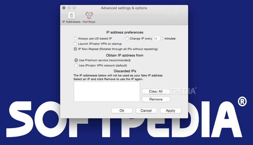 IPinator VPN Mac 6 1 22 - Download