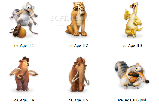 Image Gallery ice age characters names
